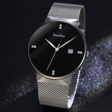 Amoureux montres pour hommes femmes bracelet en acier inoxydable montre à Quartz hommes horloge de sport femmes robe montre bracelet cadeau de Couple