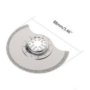 Image 5 - Lame de scie multi outils oscillante à Segment de diamant de 88mm pour Chicago Bosch Makita Dls