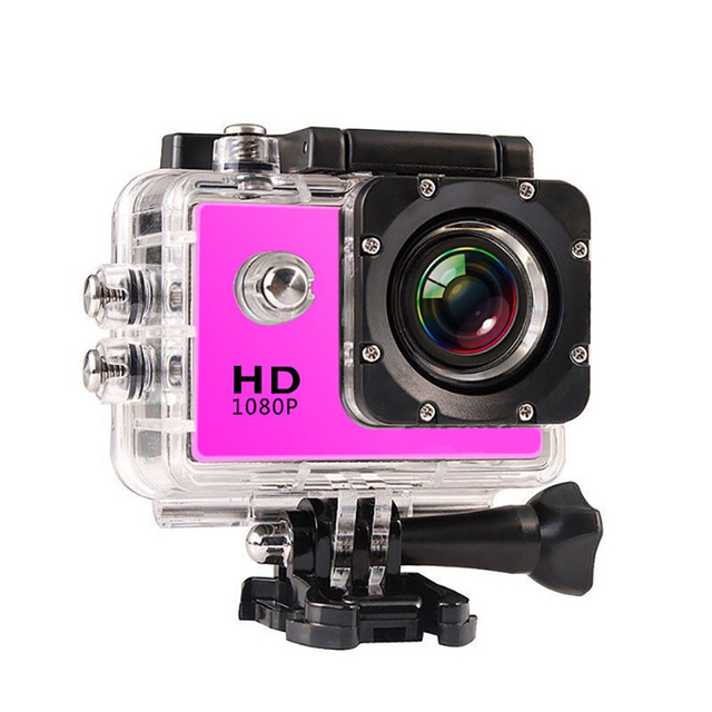 1080P HD Outdoor Mini Sport Action Camera Waterproof IP Camera Cam DV gopro style go pro with Screen Full Color Water resistant