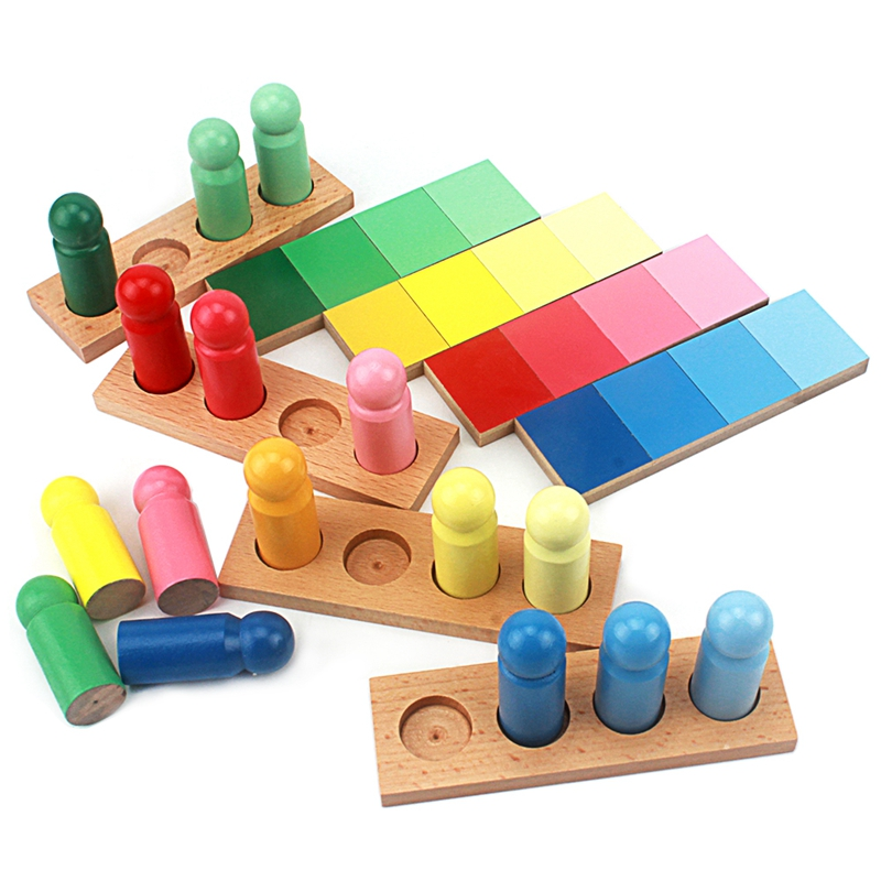 Baby Toys Montessori Color Resemblance Sorting Task Wood Small Version Toys for Children Brinquedo Sensorial Toy Early LearningBaby Toys Montessori Color Resemblance Sorting Task Wood Small Version Toys for Children Brinquedo Sensorial Toy Early Learning