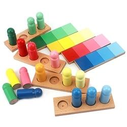 Giocattoli del bambino di Colore Montessori Somiglianza di Smistamento Compito di Legno Piccola Versione Giocattoli per I Bambini Brinquedo Sensoriale Giocattolo Apprendimento Precoce