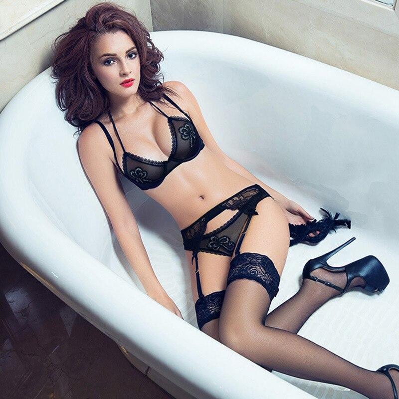 Girl in black lingerie 6
