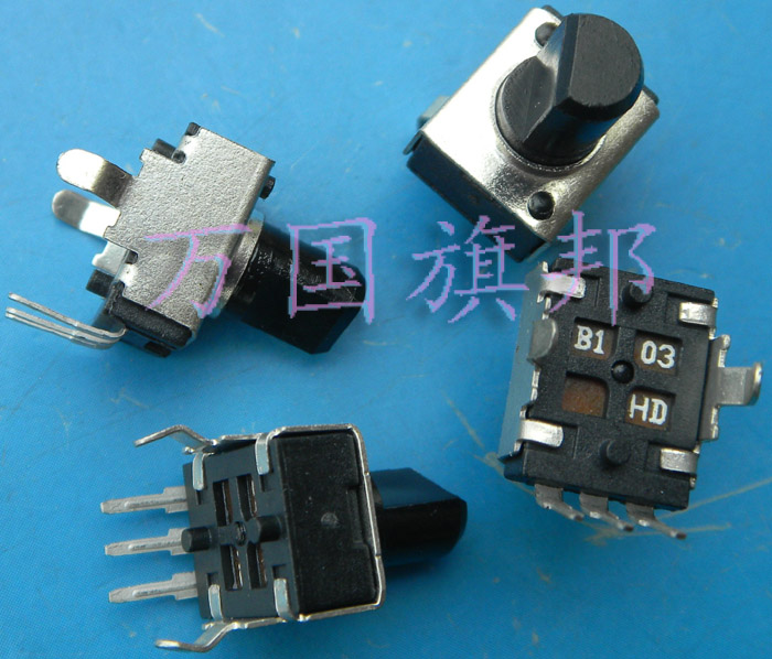 Free Delivery.09320902 Potentiometer B103 10 B10K K Small Vertical Shaft Half
