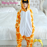 Mengshufen Pajamas Set Children Deer Sleepwear Set Flannel Nightgown Winter Girls Funny Unsiex Pyjamas Cartoon Warm