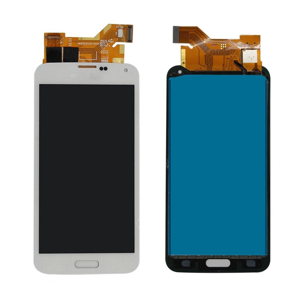 SAMSUNG S5 WHITE LCD SCREEN