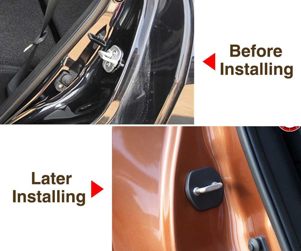 Бесплатная доставка защита для дверного замка автомобиля крышка для Nissan x-trail Qashqai Sunny Tiida Livina TEANA Koleos 4 шт./компл.
