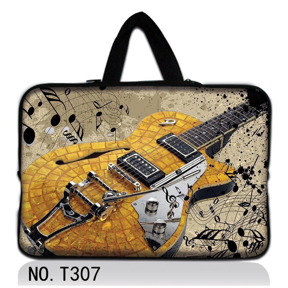 Guitar women laptop bag 13.3 15.4 15.6 12.1 11.6 7.7 7.9 14 17 inch computer bag ultrabook notebook PC tablet bolsa bags