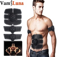EMS Body Trainer Muscle Toner Abdominal Toning Belt Wireless Portable Unisex Fitness Training Gear For
