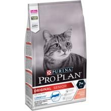 Сухой корм Purina Pro Plan для взрослых кошек старше 7 лет, с лососем, Пакет, 1.5 кг