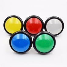 10 PCS 100mm Push Button Arcade Button Led Micro Switch Momentary Illuminated 12v/5v Power Button Switch