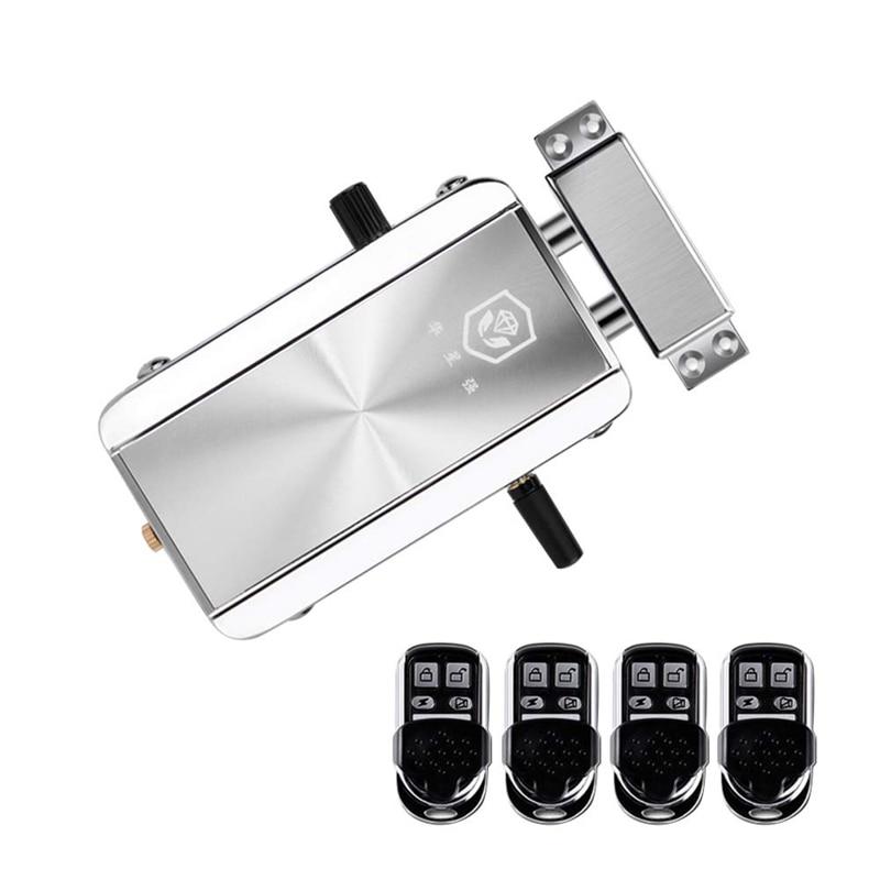 Домашний дверной замок комплект дистанционного управления без ключа Электронный замок умный беспроводной Противоугонный Засов система контроля доступа для H