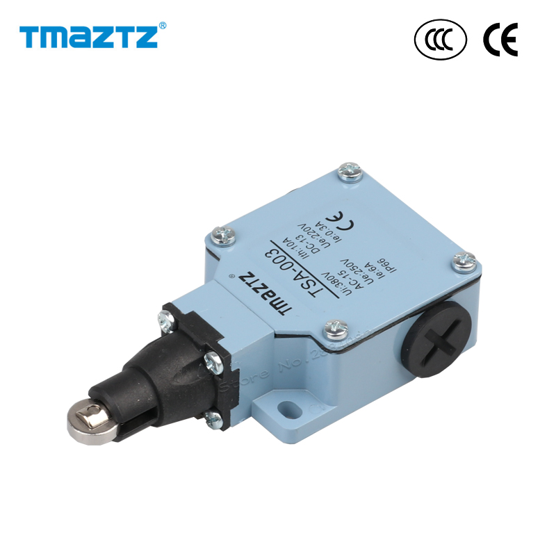Limit Switch Ac Dc No Nc 380v 10a Stainless Steel Idler Roller Wheel Metal Switch Ip66 Waterproof Tsa-003 High Quality Strengthening Waist And Sinews Lighting Accessories