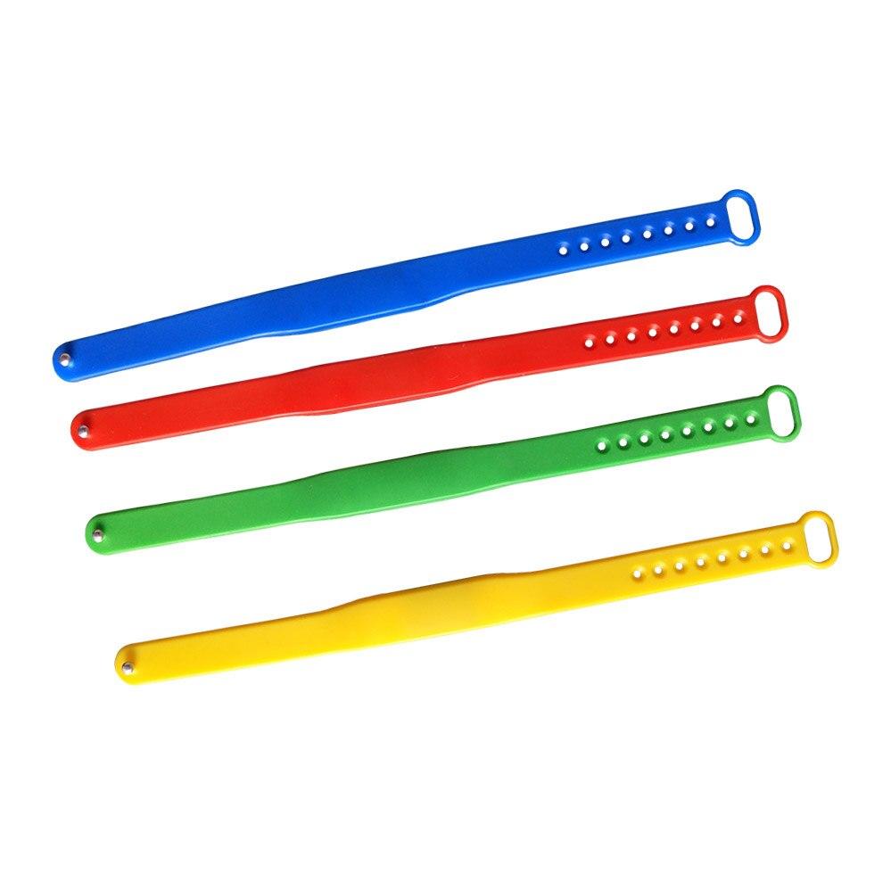 5PCS/lot New Adjustable TK4100 125khz Read-only Silicone Waterproof RFID Wristband Bracel ID Tags