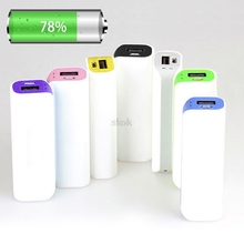 1Pc 2600mAh USB 1 x 18650 External Battery Case Charger Power Bank DIY Box PortableA04 dropshipping