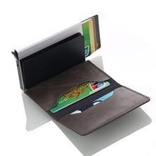 RFID Crazy Horse Wallet