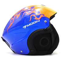 For Adult Kids Ski Helmet MOON Skiing Helmet Skateboard Ski Snowboard Helmet Integrally Molded Ultralight Breathable
