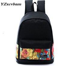New Canvas  Backpack Women  School Backpacks for Teenage Girls Fashion Laptop Bag Rucksack Bagpack Female Schoolbag