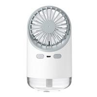 Ventilador Umidificador Multi Função Conveniente Desktop Umidificador de Spray Ventilador de Carregamento Usb Criativo de Novos Produtos Ao Ar Livre|Umidificadores| |  -
