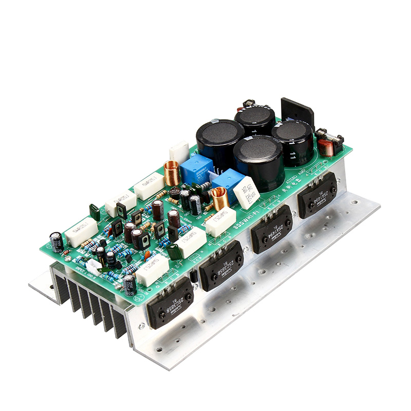 SanKen1494/3858 High Power <font><b>Amplifier</b></font> Board Stereo Dual Channel 450W+450W <font><b>HIFI</b></font> Amp Mono <font><b>800W</b></font> Audio <font><b>Amplifiers</b></font> Board image