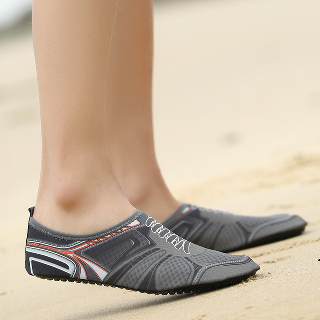 59030b078 Swimming Shoes Men Women Beach Outdoor sports Swimming Water Shoes Summer  Upstream Socks Slippers Aqua Yoga shoes