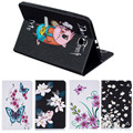 Butterfly Orchid Cover CaseFor Samsung Galaxy Tab E 9.6 T560 SM-T560 T561 Tablet Case Cover with Card Slot Holder/Stand Function