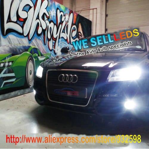 Бесплатная доставка водить автомобиль укладки Противотуманные фонари светодиодные для Audi А5 2012-2010 нет ошибки obc. Без Лампы-Из Предупреждающее Сообщение