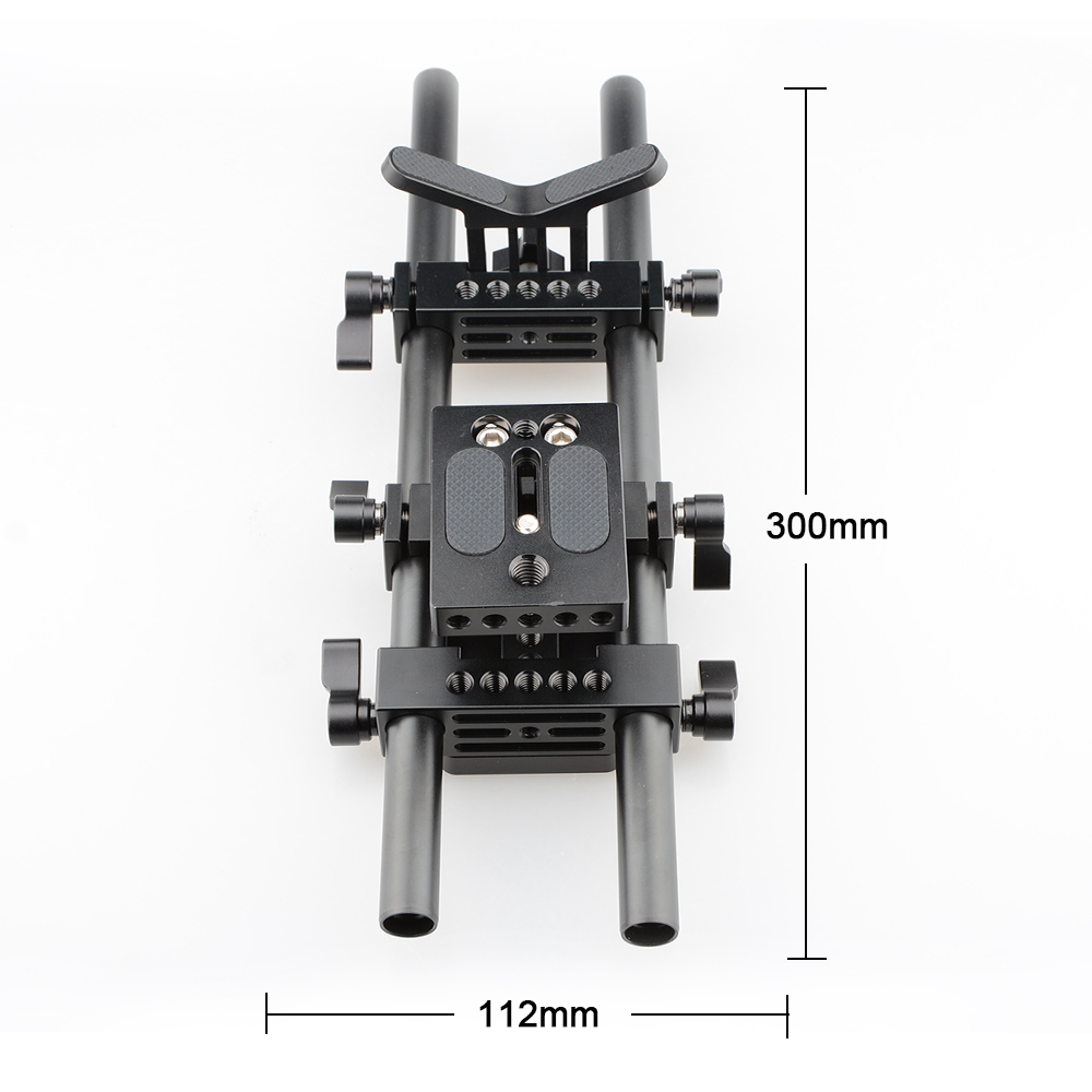 CAMVATE Pro DSLR Shoulder Mount Support Rig Kit For Universal Use (6)
