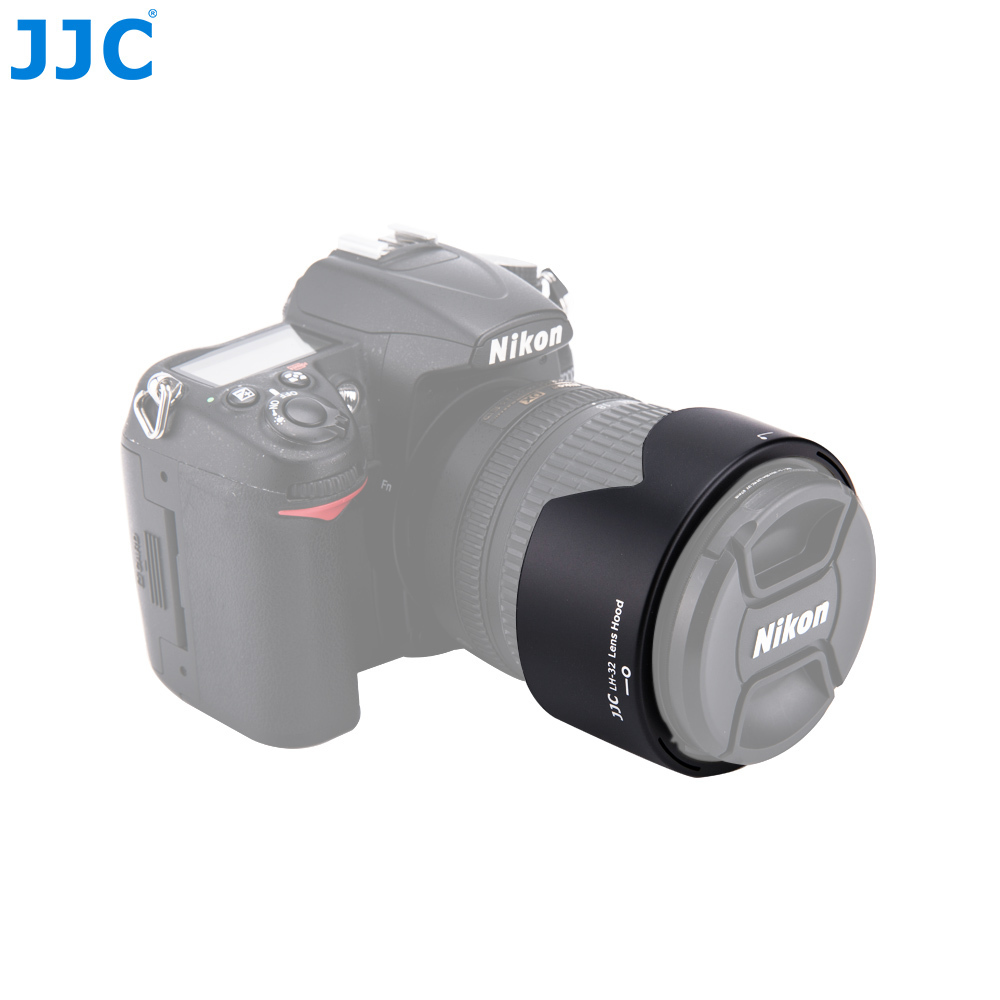 JJC Caméra Baïonnette Fleur Pare-soleil Pour NIKON AF-S DX NIKKOR 18-105mm/18-140mm f/3.5-5.6g ED VR remplace HB-32