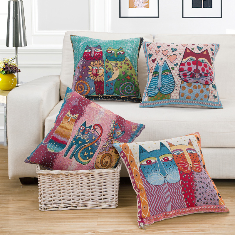 and via pillows cottage cases throw pin pillow boho bohemian