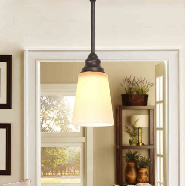 pendant lamp simple single head bedroom corridor living room dining room cafe bar iron small light single head cloth pendant light nordic new simple lighting modern living room dining room study bedroom bed warm zcl