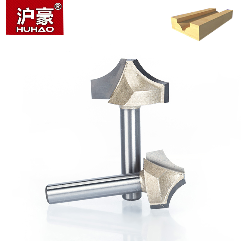 HUHAO 1pc 1/4 Shank Router Bits For Wood CNC Engraving Cutter Woodworking Tool Wood Cutting Bits Tool Fresa 1pc 1 4 shank high quality roman ogee edging and molding router bit wood cutting tool woodworking router bits chwjw 13180q
