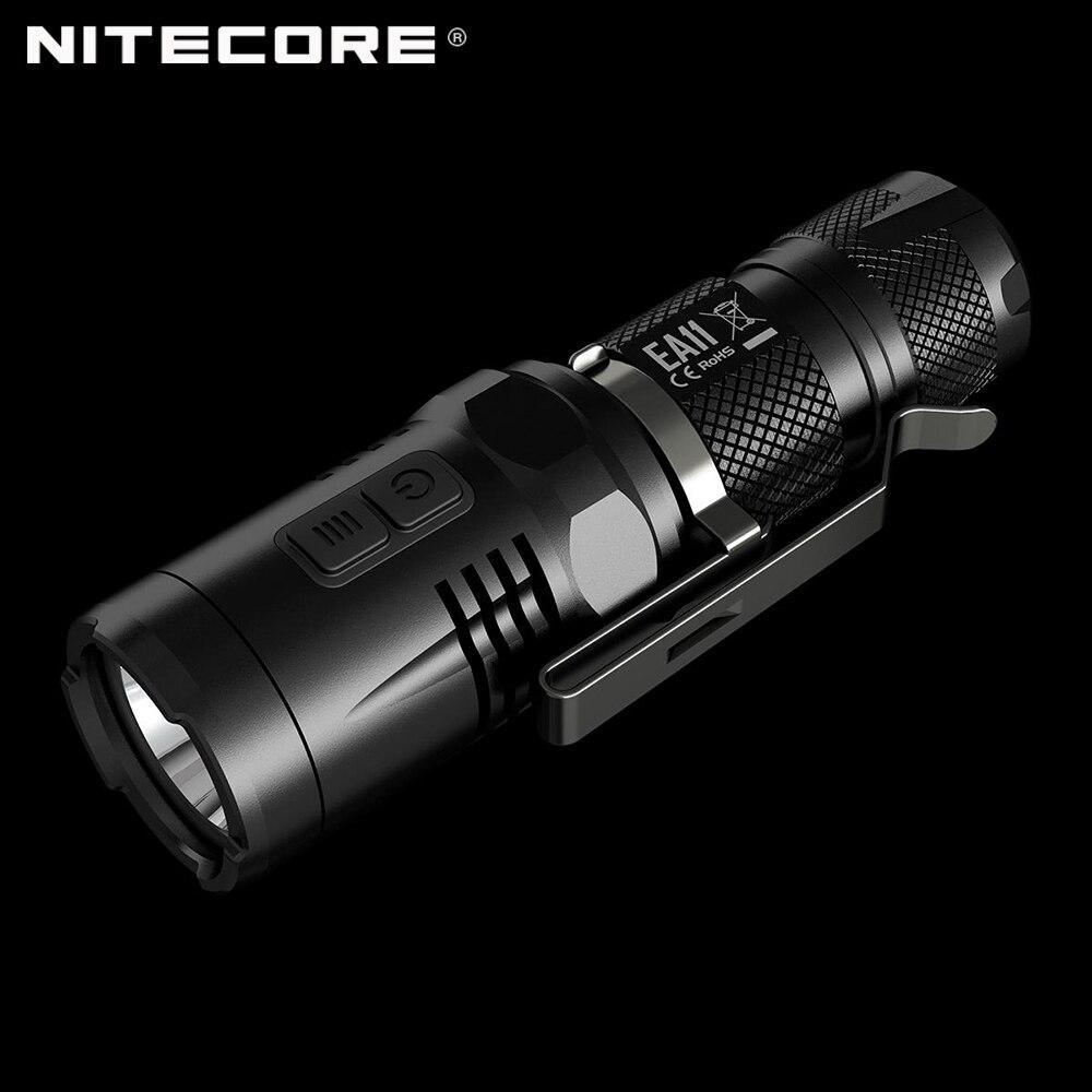 Factory Price XML2 U2 Mini Tactical Torch Portable Light LED EA11 Nitecore Flashlight AA with Red Light