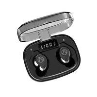 Oukk tws ipx7 à prova dwireless água sem fio fone de ouvido bluetooth 5.0 estéreo música esporte fones 1600 mah caso carregamento|Fones de ouvido| |  -