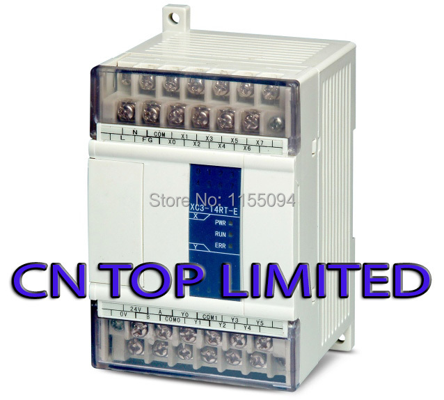 XC3-14RT-E XINJE XC3 Series PLC AC220V DI 8 DO 6 Relay Transistor mixed output new in box xc3 48rt e xinje xc3 series plc ac220v di 28 do 20 relay transistor mixed output new in box
