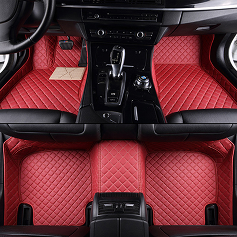 XWSN custom car floor mat for Chevrolet Lada Opel Skoda Volvo MiNi Mazda BMW Audi Honda Car floor mat car accessories Car carpet
