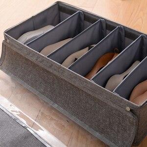 Image 4 - 折りたたみ防水保管靴箱と防塵収納多目的、便利で省スペース収納ボックス