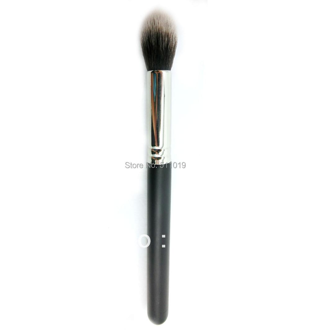 L222 - Tapered cosmetic brush  Tapered Face brush Hign quality Makeup Brush morphe black and white brush set