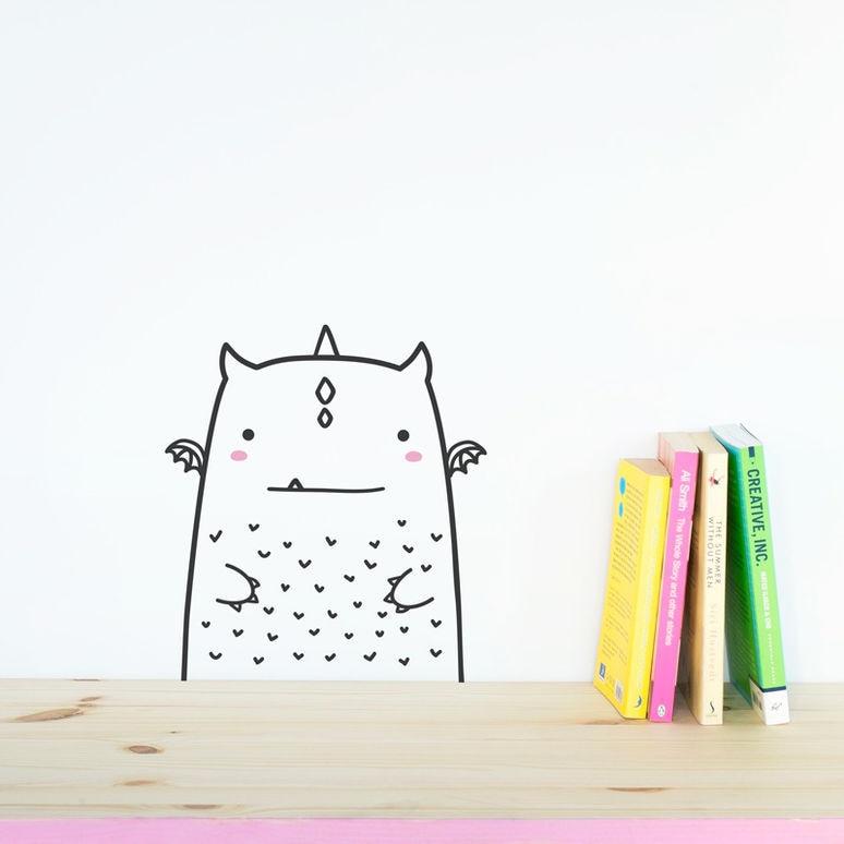 Минимализм Nordic Cute Animal Theme DIY Wall Sticker - Үйдің декоры - фото 5