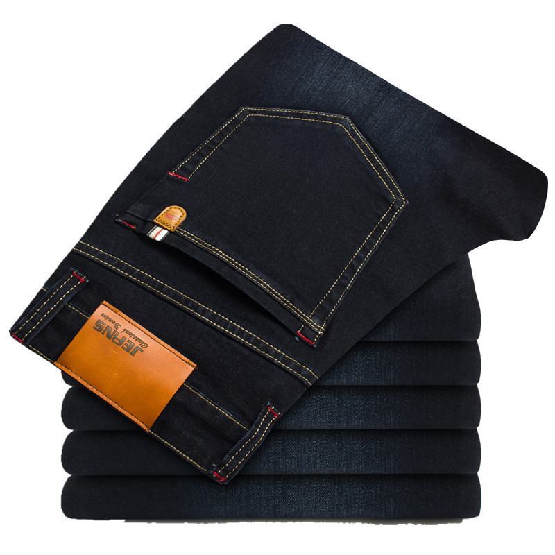 2019 New Spring cotton   Jeans   Men High Quality Famous Brand Denim trousers soft mens pants men's fashion Large Big size 42 44 46
