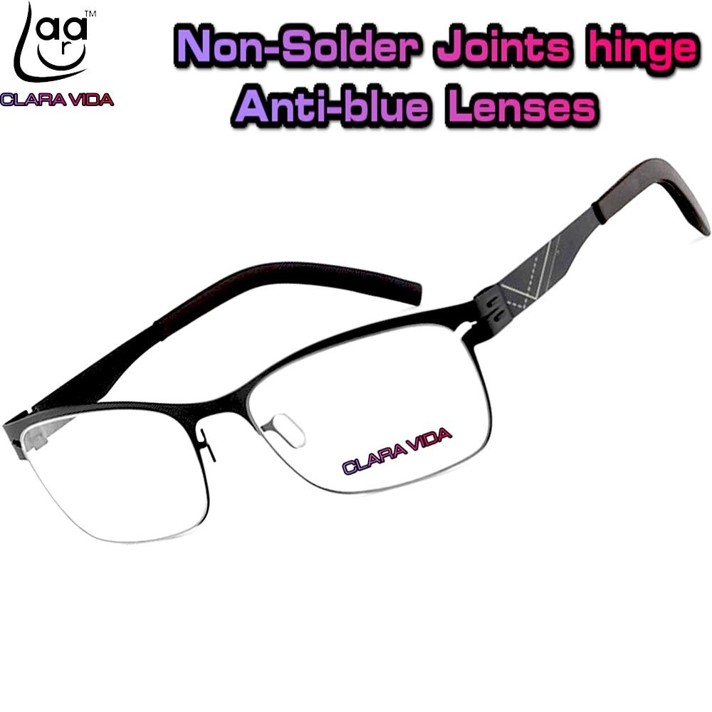 <font><b>No</b></font> screw Ultra lightweight stainless steel design Anti <font><b>Blu</b></font> <font><b>ray</b></font> ultraviolet-proof men <font><b>women</b></font> reading glasses +1 +1.5 +2 +2.5 +3