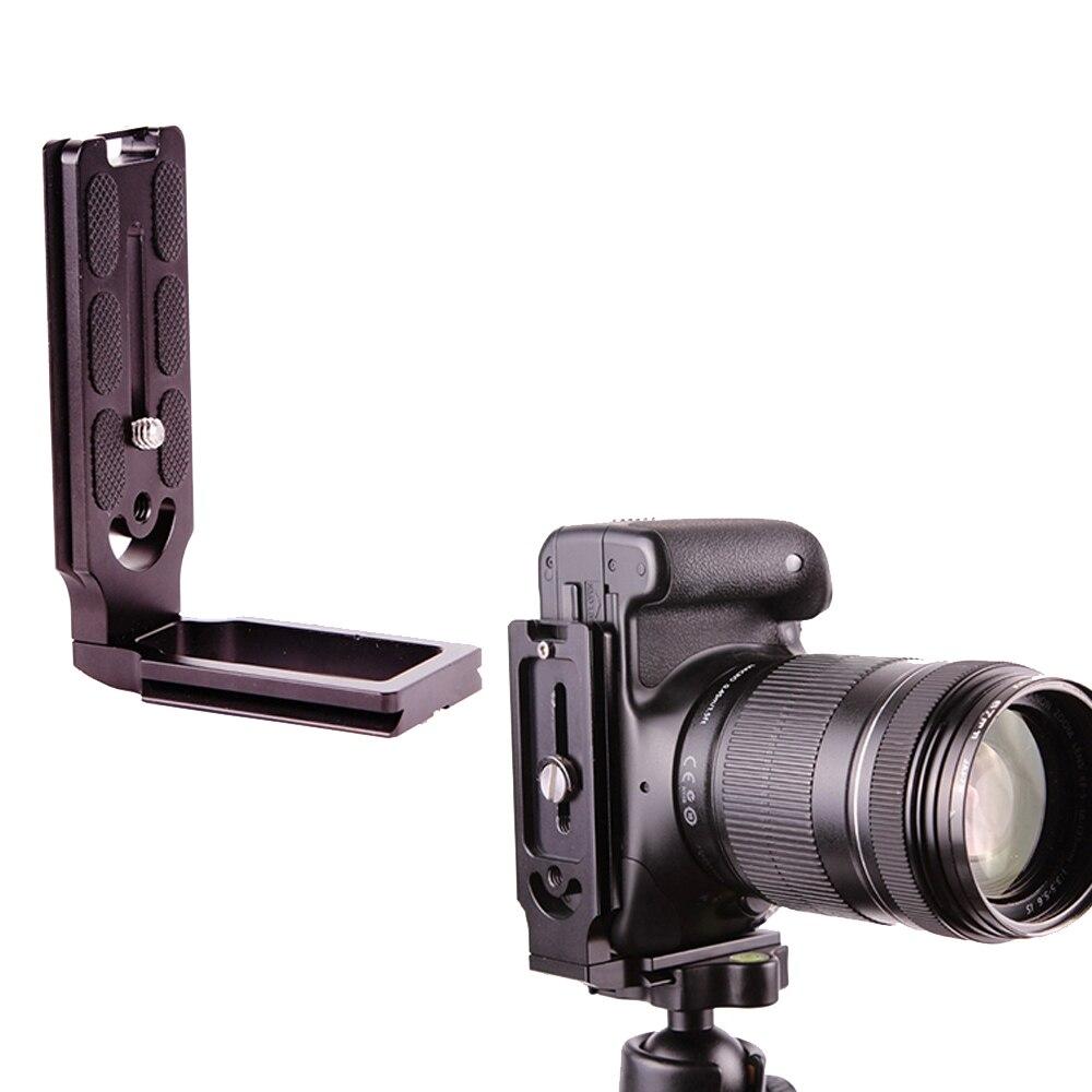 Vertical Tirez Quick Release L Plaque Support pour Canon Nikon Sony Olympus D7200 D800 D5200 1200D 700D 70D 5D II DSLR