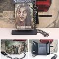 hot Movie The Walking Dead cartoon purse men women student wallet Threefold wallet Vertical Purses with metal chain