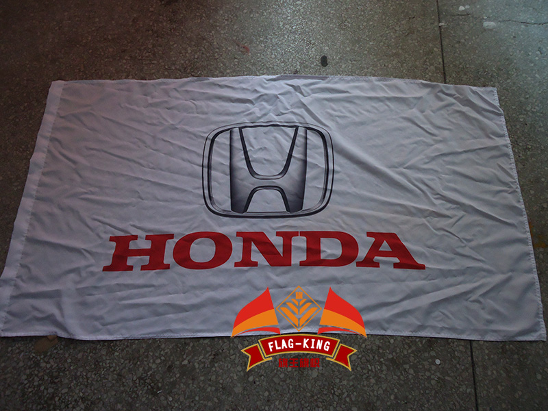 New Black Flag For Honda Car Racing Banner Flags 3ft x 5ft 90x150cm