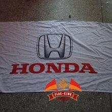 Логотип автомобиля HonDa флаг, HonDa автомобиль гоночный Клуб Флаг, 90*150 см полиэстер баннер