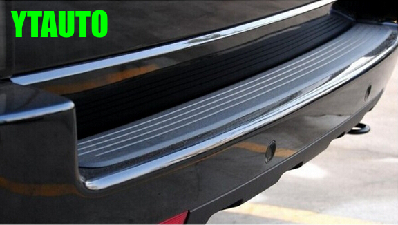 Auto rear bumper rubber protector for volkswagen vw Golf 7 jetta Golf 6, passat,bora,Skoda Octavia Fabia,superb 2 5m car rubber carbon stickers for skoda fabia octavia front lip bumper decoration for vw auto exterior stickers for toyota