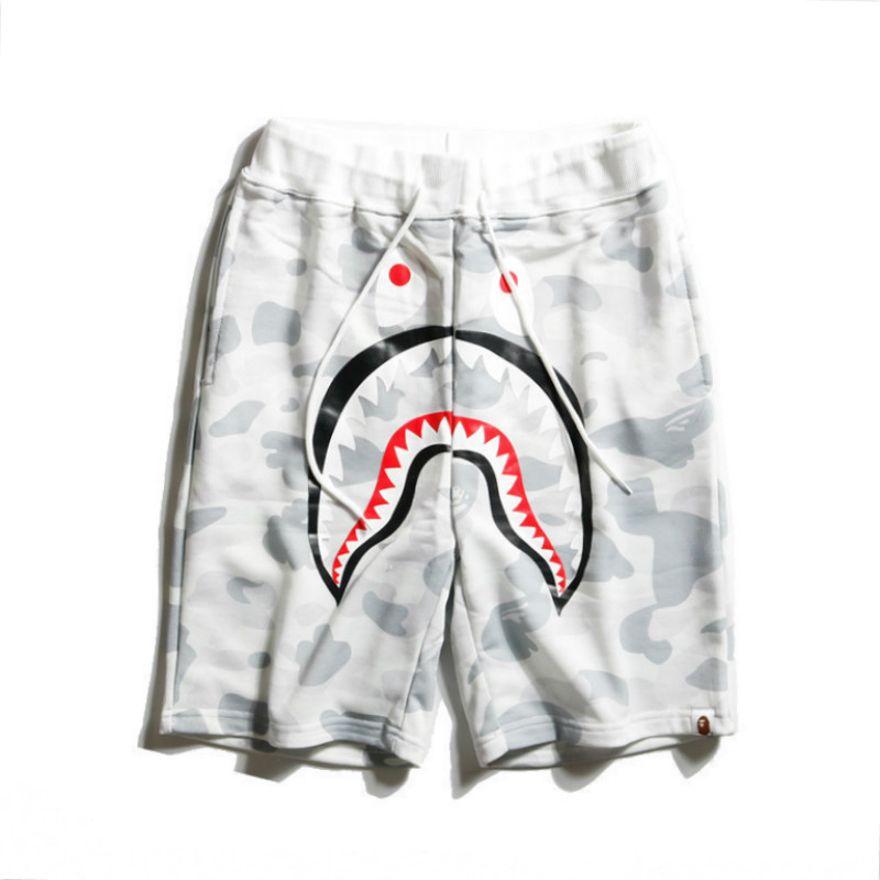 Free shipping men and women camouflage beach   shorts   couple leisure   shorts   shark men cotton   shorts   military