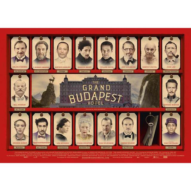 Online Shop The Grand Budapest Hotel Home Furnishing Decoration