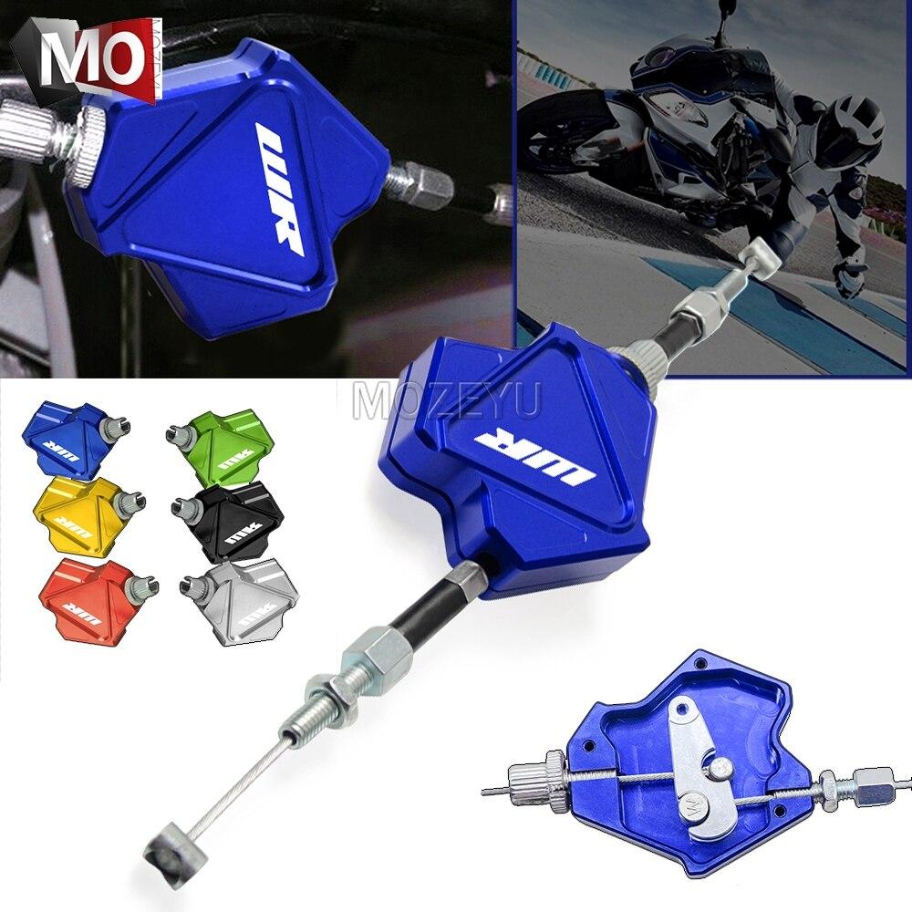 Motorrad Stunt Kupplung Hebel Einfach Pull Kabel System Für YAMAHA WR200 WR250F WR250R WR250X WR250Z WR450F WR 200 250 450 F R X Z