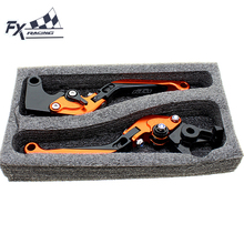 For KTM 1190 Adventure R 2013 – 2016 2014 Orange Black CNC Motorcycle Folding Extendable Brake Clutch Levers With Packing Box