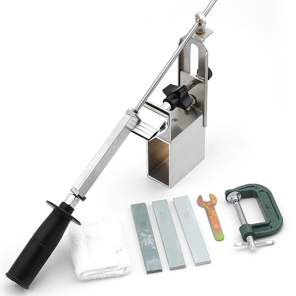 Newest Edge Pro Sharpener Portable Rotation Chef Knife